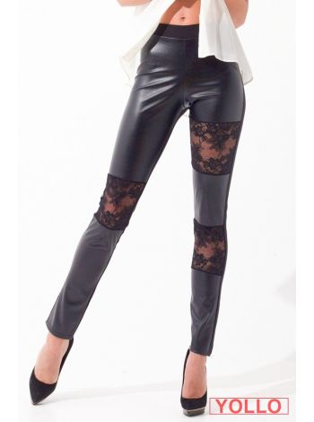 L9010 LEGGINGS FAKE SKIN PIZZO LEGS L9010 Леггинсы